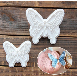 3-D Butterfly Plunger Cutter Set of 2 Pieces