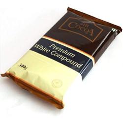 2M Cocoa Chocolate Compound - White
