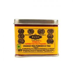 Orange Red Powder Colour - Bush