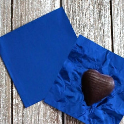 Blue Chocolate Foil Wrapper - Big (26 x 18 cm)