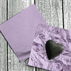 Lilac Chocolate Foil Wrapper - Big (26 x 18 cm)