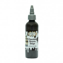 Chocolate Brown Drips (110 Gms.) - Confect