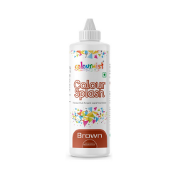 Brown Colour Splash Liquid Colour