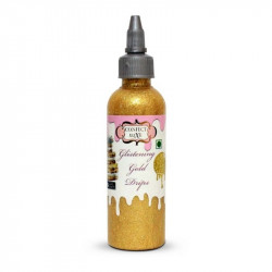 Glistening Gold Drips (110 Gms.) - Confect