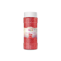 Glint Glamour Pearls - Red