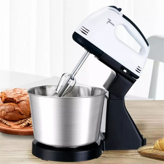 Hand Held Mixer Blender With Stand & Mixing Bowl