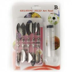 Gelatin / Jelly Art Tools Style B