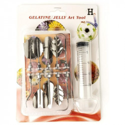 Gelatin / Jelly Art Tools Style H