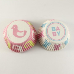 Baby Shower Theme Muffin Liner