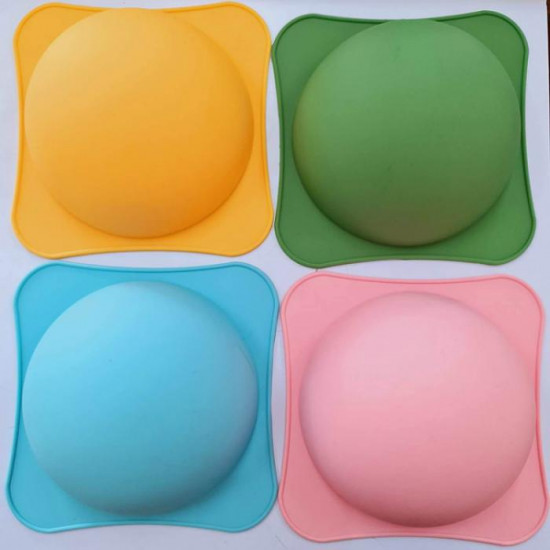 Half Sphere Shape Pinata Cake Silicone Mould With Hammer