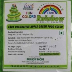 Apple Green Powder Colour - Rainbow