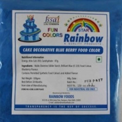 Blueberry Powder Colour - Rainbow