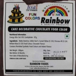Chocolate Powder Colour - Rainbow