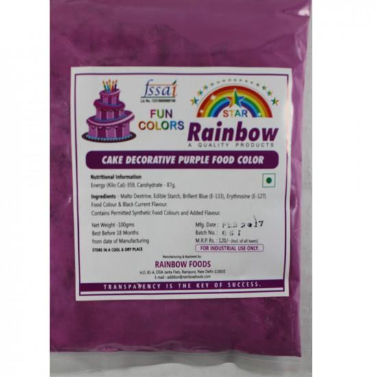 Purple Powder Colour - Rainbow