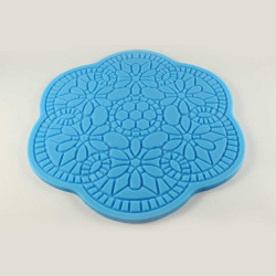 Flower Shaped Silicone Impression Mat