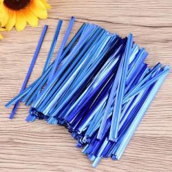 Blue Twister Ties