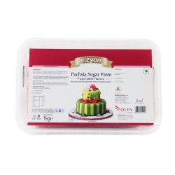 Fuchsia Sugar Paste (1 Kg) - Vizyon