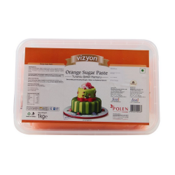 Orange Sugar Paste (1 Kg) - Vizyon