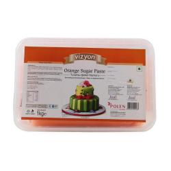 Orange Sugar Paste (1 Kg) - Vizyon