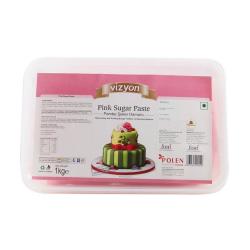 Pink Sugar Paste (1 Kg) - Vizyon
