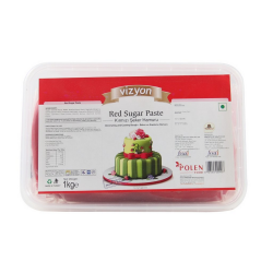 Red Sugar Paste (1 Kg) - Vizyon