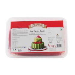 Red Sugar Paste (1 Kg) - Vizyon