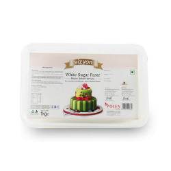 White Sugar Paste (1 Kg) - Vizyon