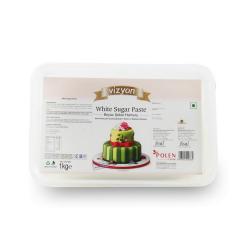 White Sugar Paste (1 Kg) - Vizyon
