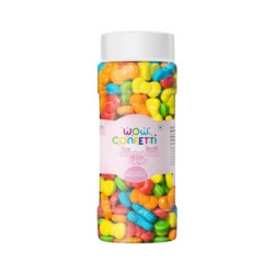 Wow Confetti Assorted Bow Candy