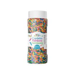 Wow Confetti Rainbow Vermicelli