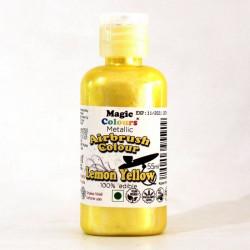 Lemon Yellow Airbrush Colour (55 Ml) - Magic Colours