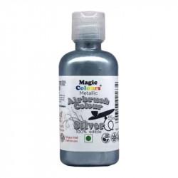 Silver Airbrush Colour (55 Ml) - Magic Colours