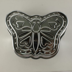 Butterfly Shape Aluminium Cake Mould