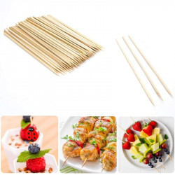Bamboo Skewer Sticks - 6 inches