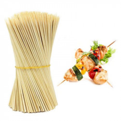 Bamboo Skewer Sticks - 8 inches