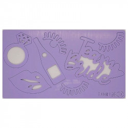 Bride Theme Acrylic DIY Stamp