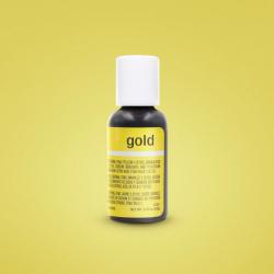 Gold Gel Colour - Chefmaster