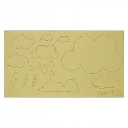 Cloud Theme Acrylic DIY Stamp