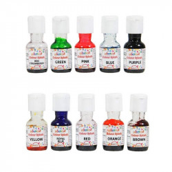 Colour Splash Liquid Colours Assorted Pack of 10