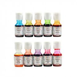 Colourmist Liquid Colours Assorted Pack of 10