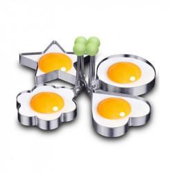 Egg Shaper Pancake Rings Set of 4