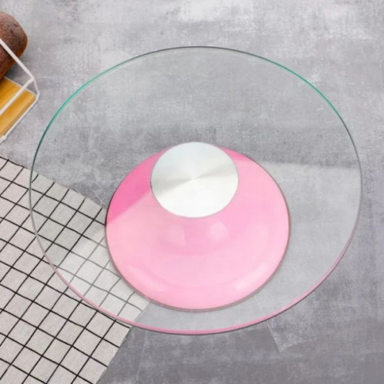 Glass Top Turntable