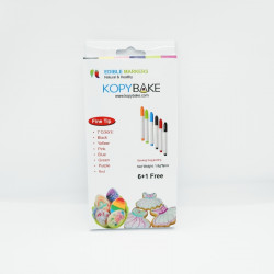 Edible Marker Set of 7 Pieces - Kopybake