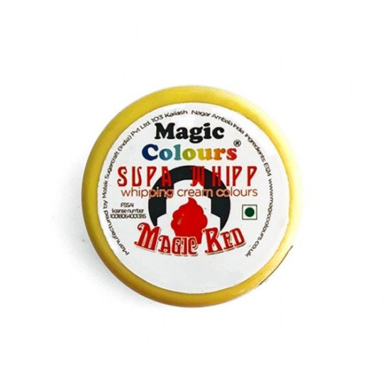 Red Supa Whipp (25 Gms) - Magic Colours