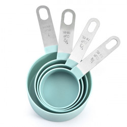 Measuring Cups With Stainless Steel Handle - Set of 4 Pcs.