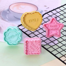 Best Wishes, Congrats, Love, Thank You Messages Cutter Set