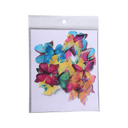 Mix Butterfly Edible Wafer Cake Toppers - Tastycrafts