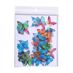 Multi Colour Butterfly Edible Wafer Cake Toppers - Tastycrafts