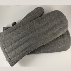 Grey Oven Gloves