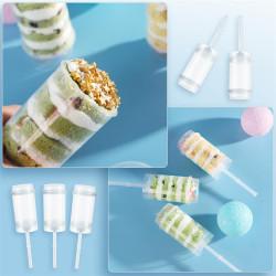 Push Up Cake Pop Mould Set of 5